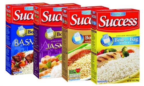 success rice varieties