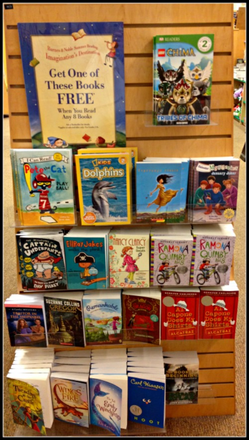 Barnes & Noble Summer Reading Program - Kids Receive a ...