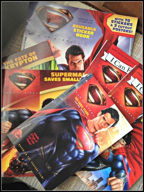 Man of Steel Books