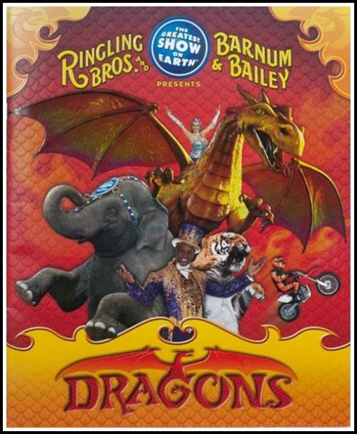 Ringling Bros Circus Dragons