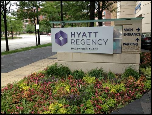 Hyatt Regency McCormick Place Chicago Entrance