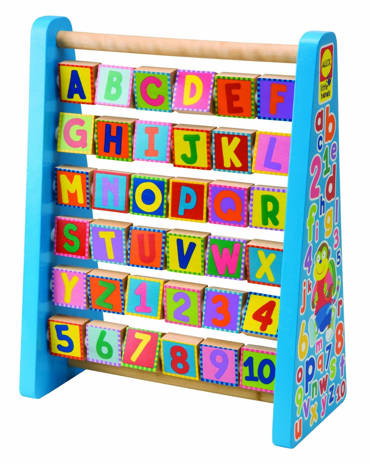 Abc Learning Toys : Alex toys early learning abc wood toy now reg