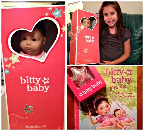 American Girl Bitty Baby Packaging