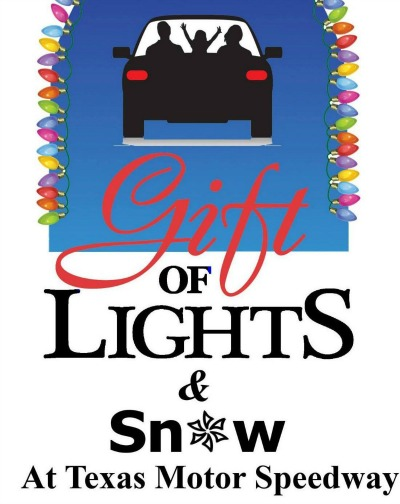 Gifts of Light and Snow at Texas Motor Speedway