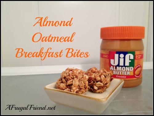 Jif Almond Oatmeal Breakfast Bites
