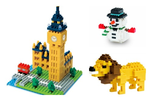 Nanoblock products