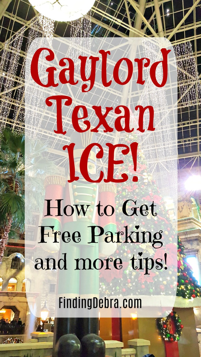 Gaylord Texan ICE Free Parking and more tips