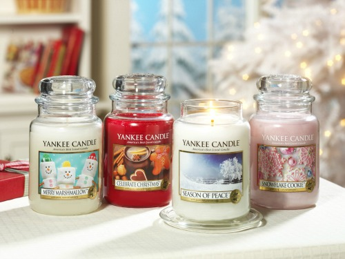 Yankee Candle New Festive 2013 Holiday Candles Giveaway