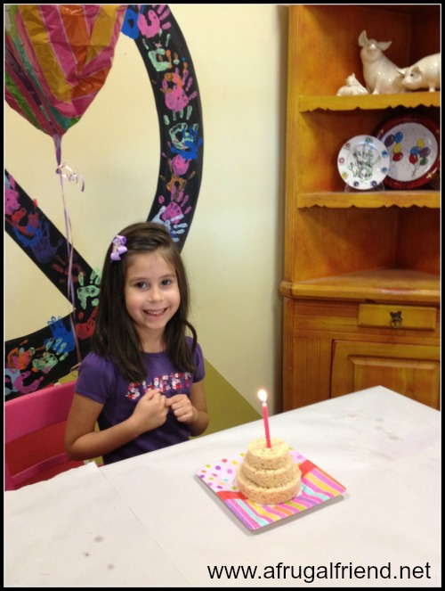 Painting Birthday Party Girl
