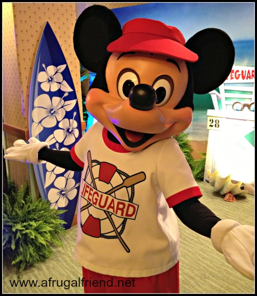 Surfs Up Breakfast with Mickey