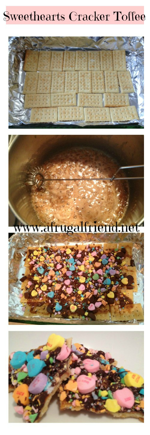 Sweethearts Cracker Toffee recipe 2
