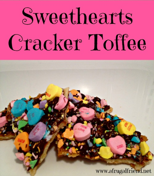 Sweethearts Cracker Toffee
