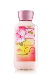 bath and body works sun lotion