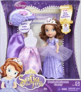 sofia the first perfect princess doll