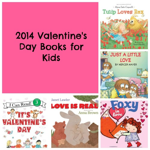 2014 Valentine's Day Books for Kids