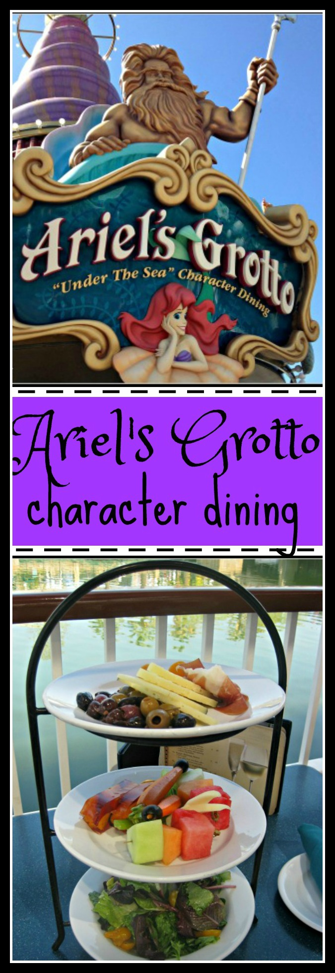 Ariel's Grotto Character Dining Review