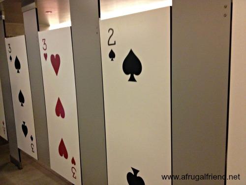 Disney Parks Restroom Stalls