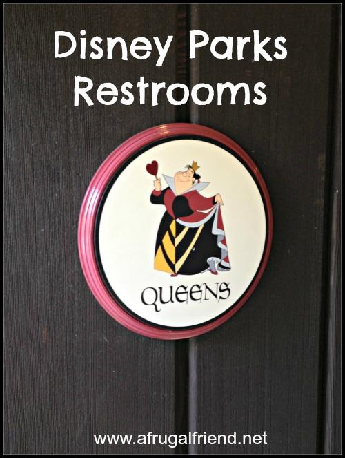 Disney Parks Restrooms