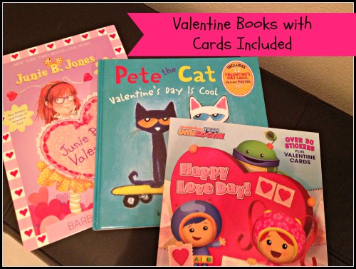 Valentine's Kids Books with Cards Included