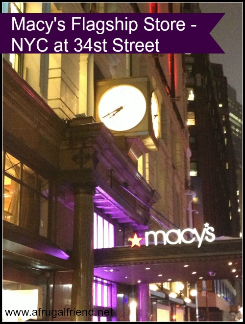 Macy's Flagship Store NYC at 34th Street