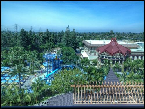 Disneyland Hotel Adventure Tower Room View