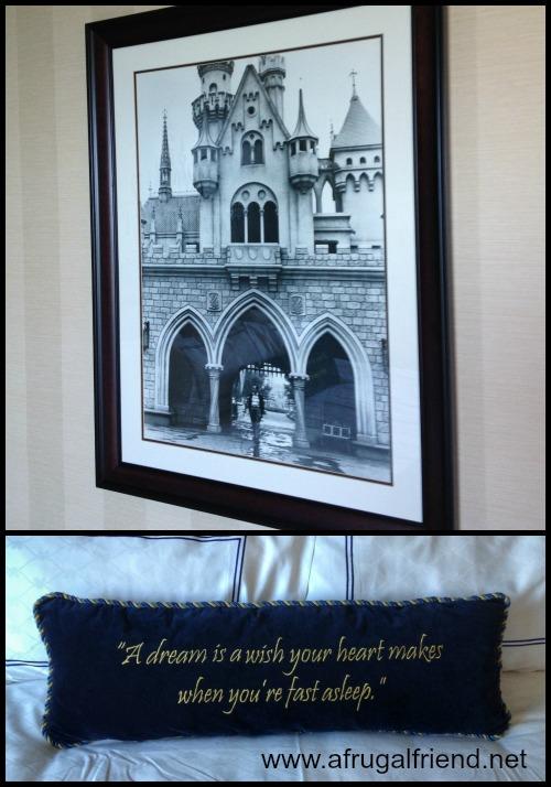 Disneyland Hotel Room Details