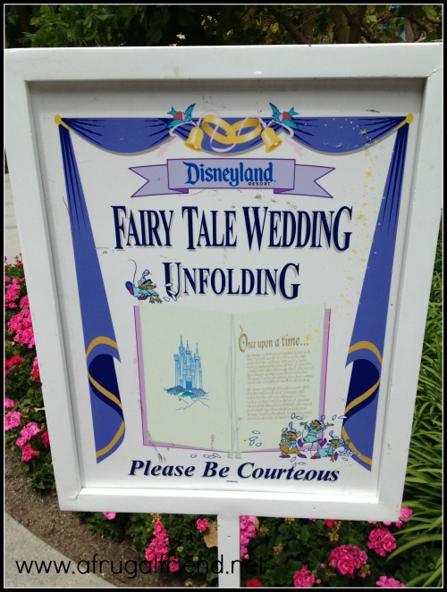 Disneyland Hotel Wedding Location
