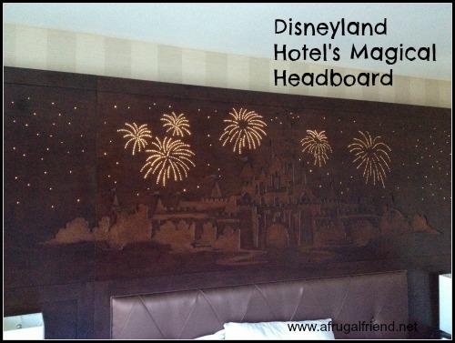 Disneyland Hotel's Magical Headboard
