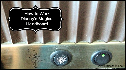 How to Work Disney's Magical Headboard
