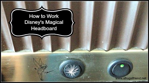 How to Work Disney's Magical Headboard