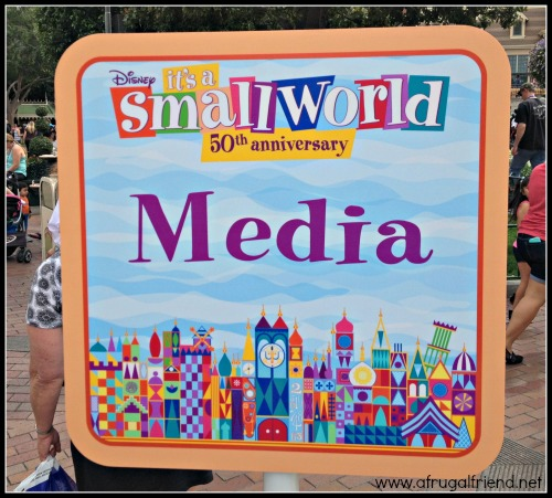 It's a Small World 50th Anniversary Media Event