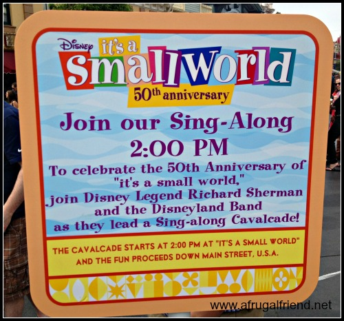 It's a Small World 50th Anniversary Parade