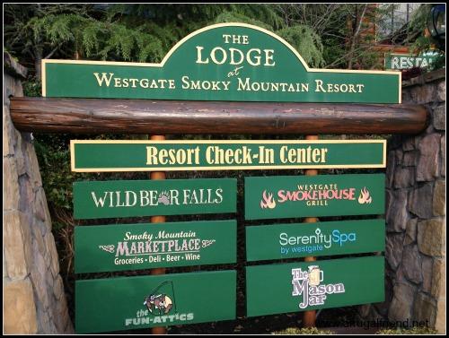 Westgate Smoky Mountain Resort Sign