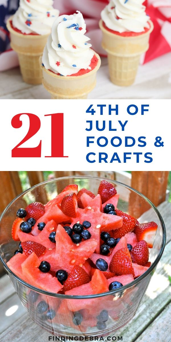 4th of July Foods and Crafts