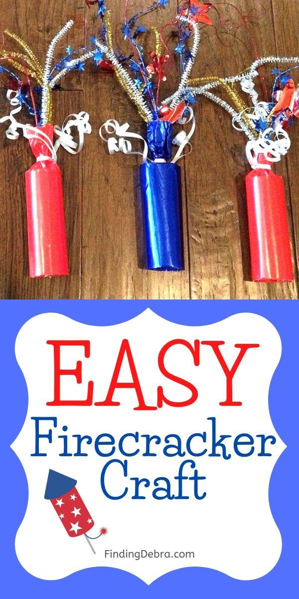 Easy Firecracker Craft