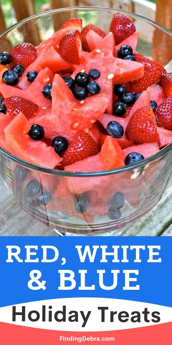Red White and Blue Holiday Treats