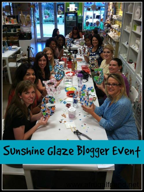 Sunshine Glaze Blogger Event 2