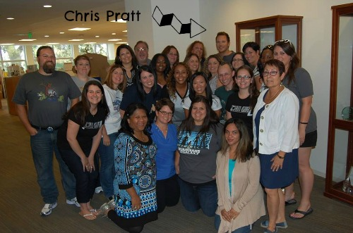 Chris Pratt Blogger Photo #GuardiansoftheGalaxyEvent