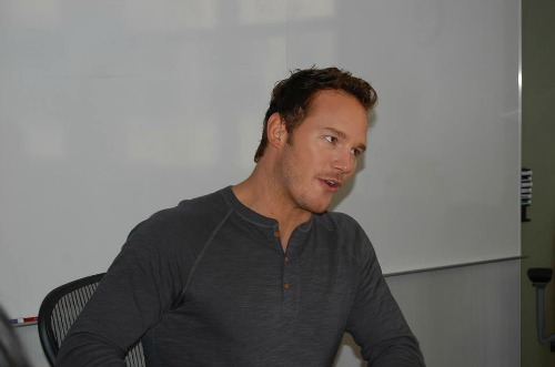 Chris Pratt #GuardiansoftheGalaxyEvent