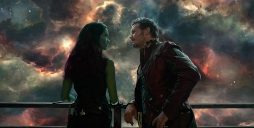 Gamora and Peter Quill #GuardiansoftheGalaxyEvent