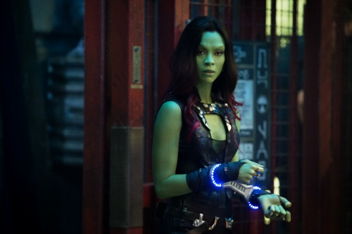 Gamora as prisoner #GuardiansoftheGalaxyEvent
