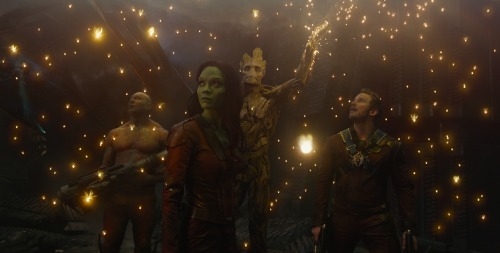 Guardians of the Galaxy Groot Light Scene