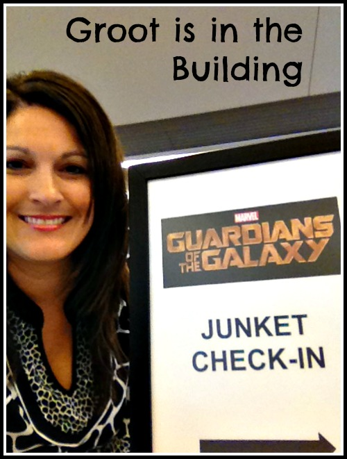 Guardians of the Galaxy Junket Check-in