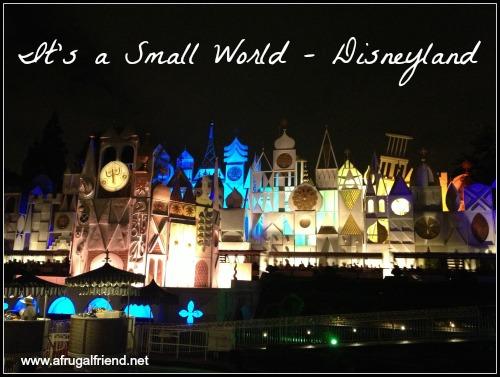 It's a Small World Disneyland At Night