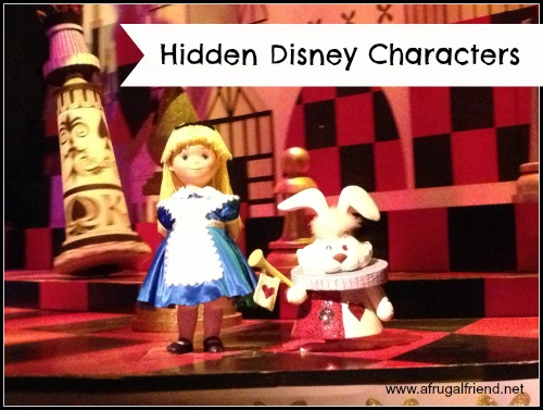It's a Small World Hidden Disney Characters