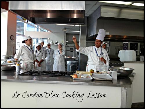Le Cordon Bleu Cooking Lesson