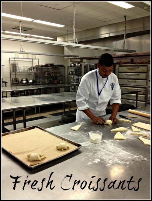 Le Cordon Bleu Fresh Croissants #100FootJourneyEvent