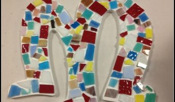 Creating Mosaics at Sunshine Glaze Pottery Studio – Bloggers Night Out