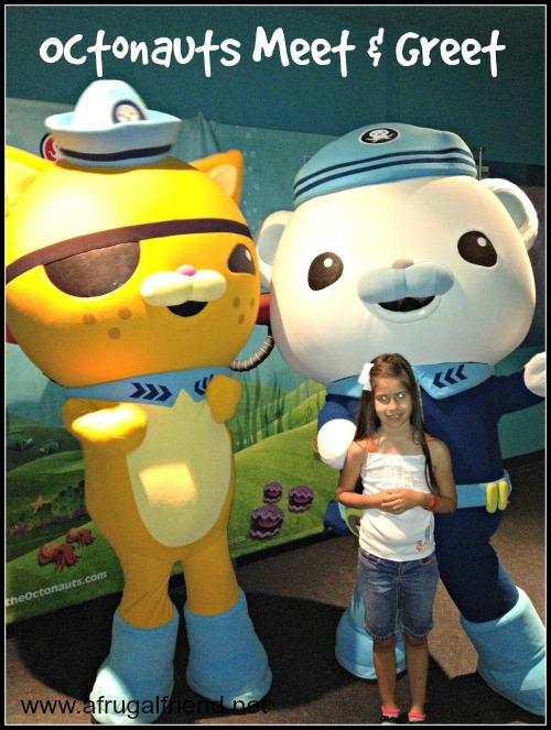 Octonauts at SeaLife Aquarium