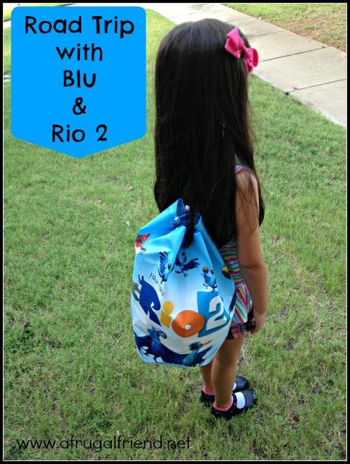 Road Trip with Blu and Rio 2 #Rio2 #Rio2Insiders